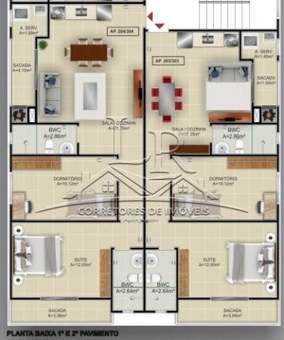 Apartamento à venda com 2 dormitórios em Ingleses, Florianópolis cod:1668 - Foto 8