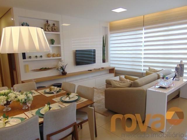 Apartamento à venda com 3 dormitórios em Residencial eldorado, Goiânia cod:NOV235562 - Foto 2