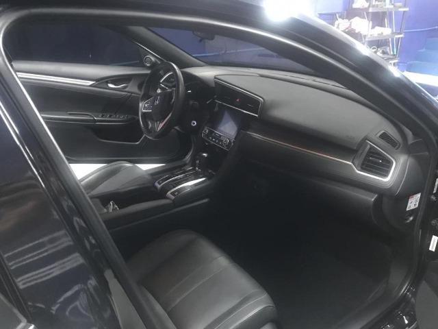 Honda Civil EXL, 2017, preto Batmóvel. Único Dono. Maravilhoso - Foto 7