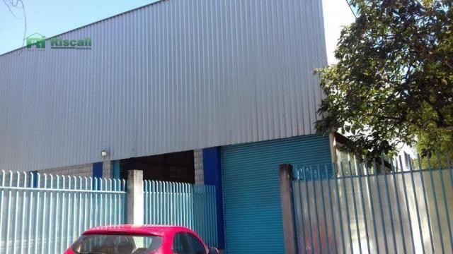 Galpão à venda, 1400 m² por r$ 2.200.000 - jardim tomé - embu das artes/sp - Foto 4