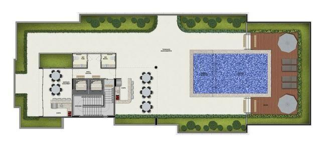 Apartamento com 3 quartos e varanda gourmet na zona norte de Recife - Foto 4