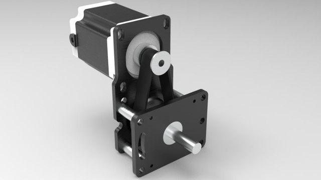 Motor De Passo Com Redução 1:3 Cnc Plasma,laser,router