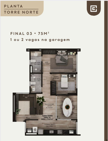 Lançamento - Duo Capim Macio - Apartamentos - Foto 6