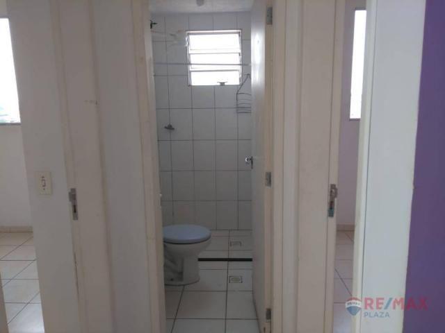 Apartamento com 2 dormitórios para alugar, 45 m² por R$ 650,00/mês - Residencial Ana Célia - Foto 6