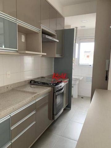 Apartamento com 2 dormitórios (1 suíte) à venda e locação, 72 m² - Gonzaga - Santos/SP - Foto 4