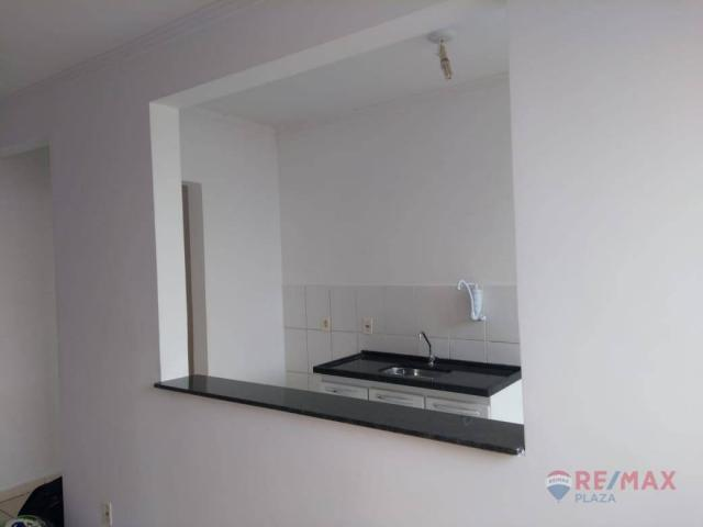 Apartamento com 2 dormitórios para alugar, 45 m² por R$ 650,00/mês - Residencial Ana Célia - Foto 4