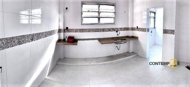 Apartamento com 3 dormitórios à venda, 98 m² por R$ 575.000,00 - Ponta da Praia - Santos/S - Foto 14