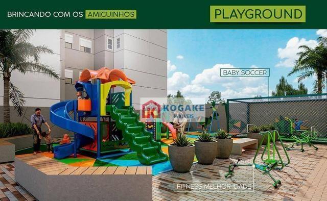 Apartamento com 2 dormitórios à venda, 65 m² por R$ 331.980 - Parque Industrial - São José - Foto 10