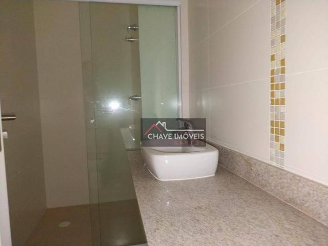 Apartamento com 3 dormitórios à venda, 111 m² por R$ 740.000,00 - Marapé - Santos/SP - Foto 7