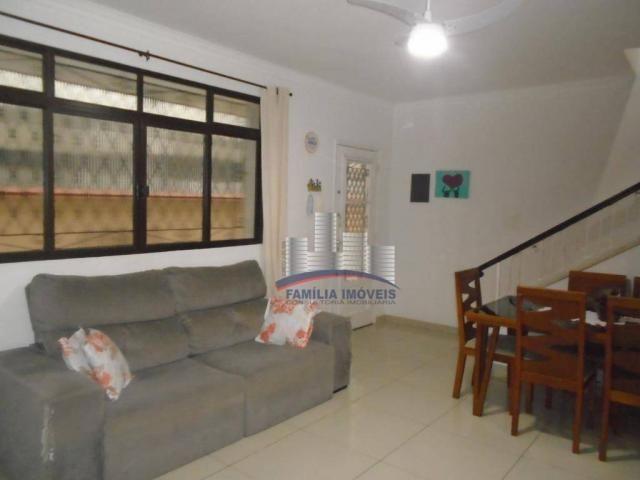 Sobrado com 3 dormitórios à venda por R$ 530.000,00 - Campo Grande - Santos/SP - Foto 8