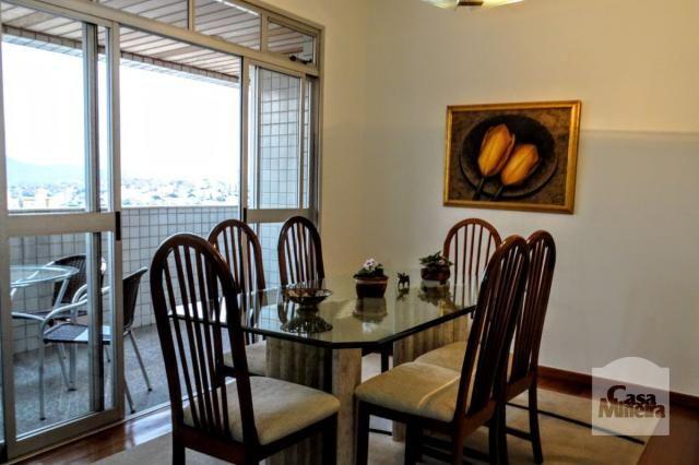 Apartamento à venda com 4 dormitórios em Alto barroca, Belo horizonte cod:271541 - Foto 2