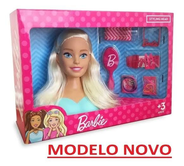 Boneca Bárbie Busto +  Kit Acessórios  Pupee Mattel - Whatssap *