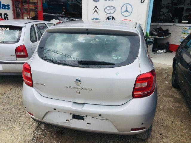 Sucata Renault Sandero 1.0 2016 Retirada De Peças - Foto 2