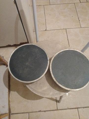 Vendo 2 pote de comida e água pra cachorro eu quero 50 reais nos 2  - Foto 2