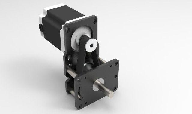 Motor De Passo Com Redução 1:3 Cnc Plasma,laser,router - Foto 6