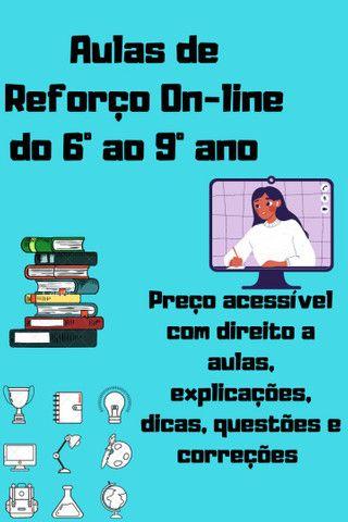 Aulas de Reforço| Ensino Fundamental R$20