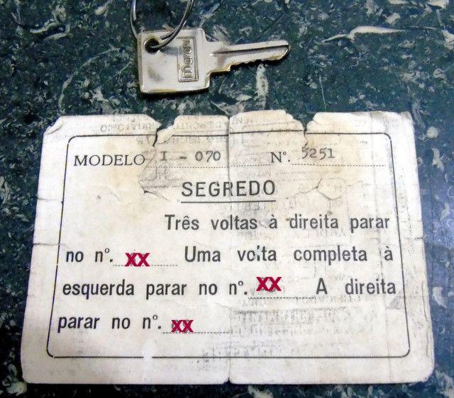 Cofre Pequeno com chave e segredo, Aceio Troca! - Foto 5