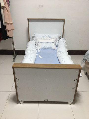Berço (mini cama) + colchão - Foto 4