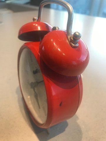 Relógio despertador vintage - Foto 2