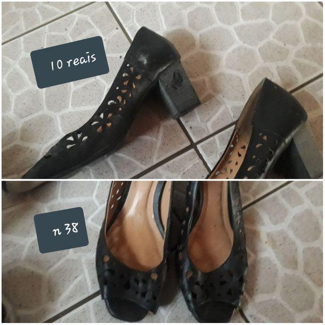 Vendo sapato n 34 36 38 39 40 - Foto 3