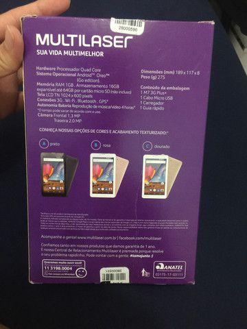Tablet multilaser novo - Foto 3