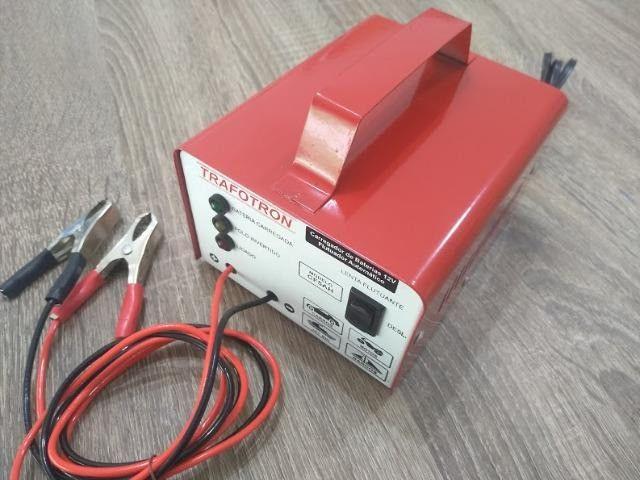 Carregador de bateria automotiva Novos lacrados na caixa