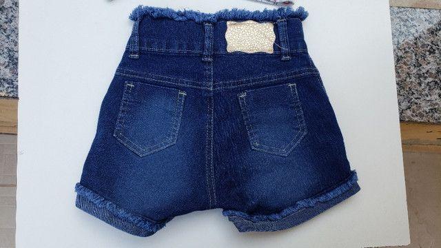 Conjunto infantil short e camiseta unicornio pop corn - Foto 5