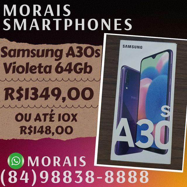 Samsung A30s 64Gb Violeta (LACRADO+NOTA FISCAL E GARANTIA)  - ( 8 4 ) 9 8 8 3 8 - 8 8 8 8
