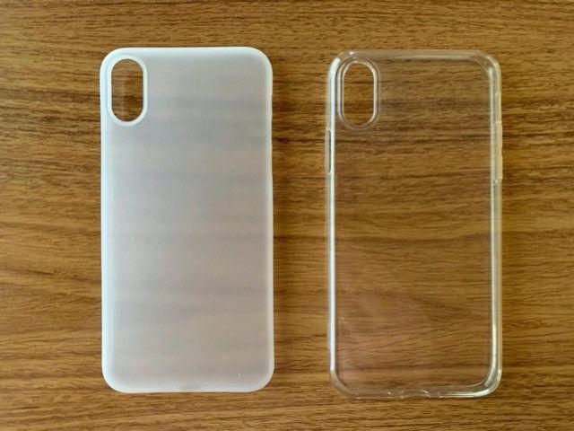 Capas Esr Tozo Slim Clear Solid Soft Tpu Cover iPhone X/xs