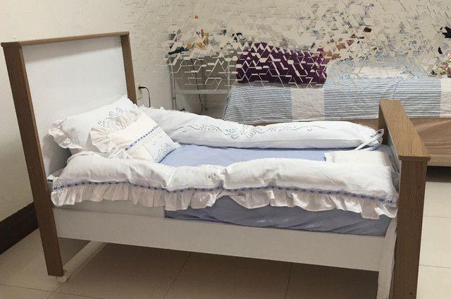 Berço (mini cama) + colchão - Foto 3