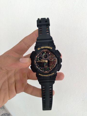 Relógio Casio G-Shock GA-100 (A prova d'água) - Foto 2