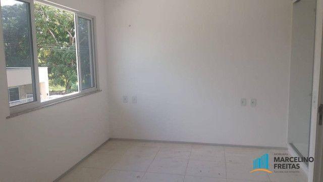 Casa com 3 dormitórios para alugar, 104 m² por R$ 1.109,00/mês - Lagoinha - Eusébio/CE - Foto 18
