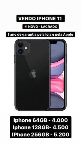 Vendo iPhone novo