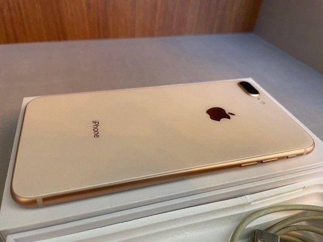 iPhone 8 Plus 64GB Dourado  - Foto 3