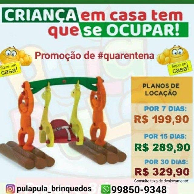 Promoção Aluguel brinquedos de playground em sua casa por 7, 15 e 30 dias - Foto 4