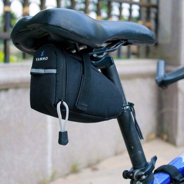 Promoção Bolsa de Selim compacta para bicicleta bike ciclismo - Foto 3