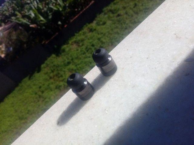 Fone sem fio com carregador portátil - Foto 3
