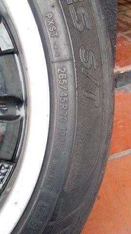 Rodas caminhonete furação 6x139 7 Kromma Slice aro 20 - Foto 5