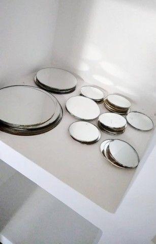 Espelhos diversos tamanhos e formatos