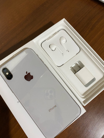 iPhone X Silver 256Gb - Foto 4