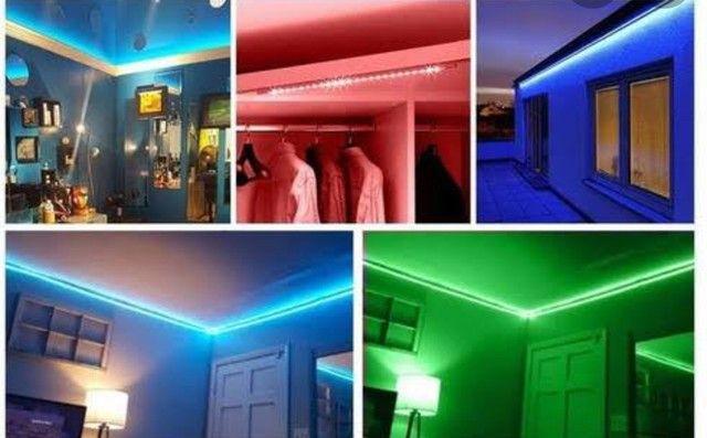 LED RGB COM FONTE e CONTROLE