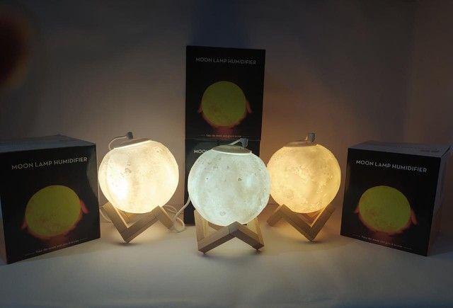 Lâmpada Umidificadore Lua