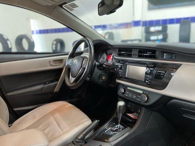 Corolla XEI 2.0 Flex aut. 2017 BLINDADO - Foto 9