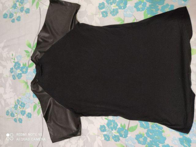 Camisa long line  - Foto 3