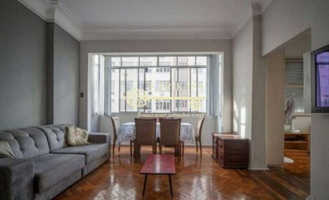 Copacabana- Av Nossa Sra de Copacabana - Apartamento Reformado, vista lateral mar, 3 quart