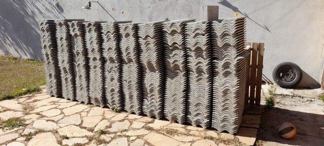 Telha de Concreto CINZA PÉROLA - Foto 4