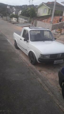 Fiat 147 picape troco