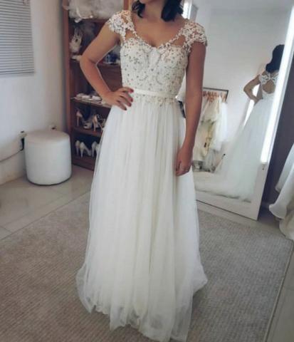 Vestido noiva - Carlos Bacchi