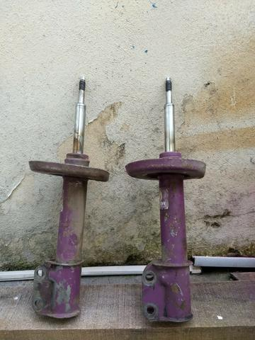Molas e amortecedores esportivos celta corsa - Foto 8