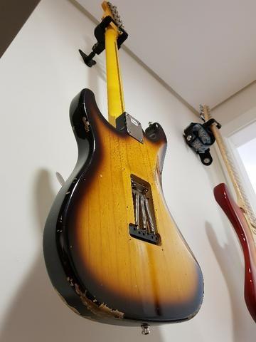 Lsl Instruments Saticoy Stratocaster Swamp Ash Two Tone - Foto 4